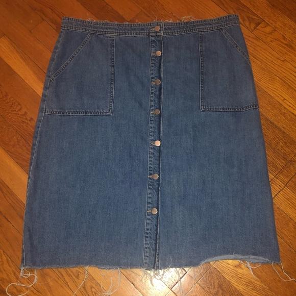 4c0716cc0 ASOS Skirts | Denim Skirt | Poshmark